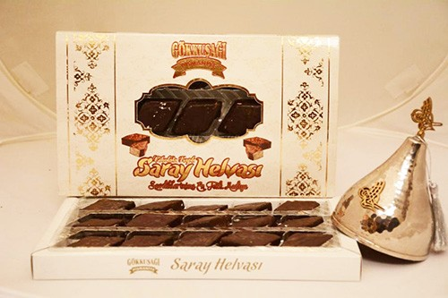 Дворцовая халва в шоколадной глазури 320 гр